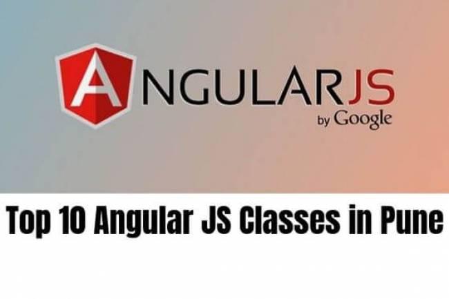 Top 10 Angular JS Classes in Pune
