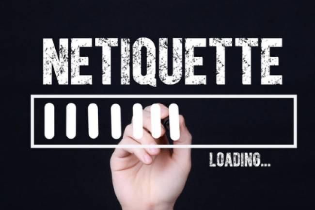 इंटरनेट ऐटिकेट्स यानि 'नेटिकेट्स'