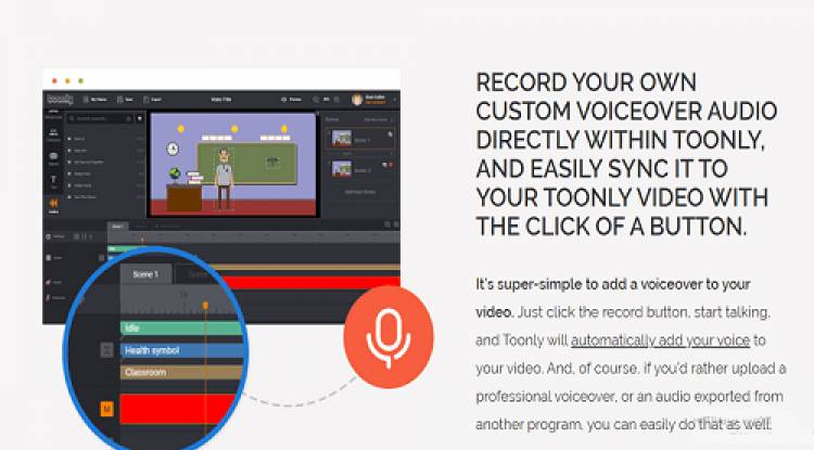 record your own voice